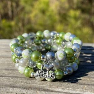 Stacking Beaded Bracelets Christian Jewelry Gifts